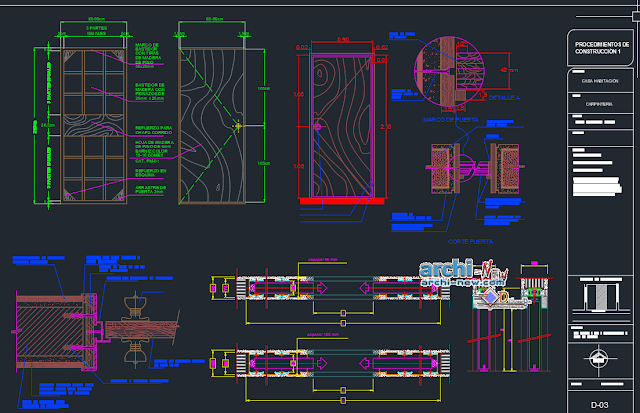 House room one family  in AutoCAD