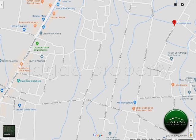 Tanah dijual jalan Kaliurang Km 11