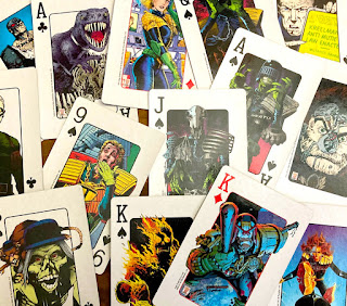 2000AD Playing Cards - SFX Magazine