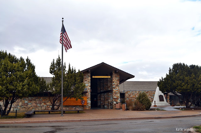 Visitors Center at Golden Spike