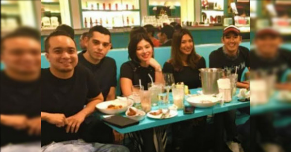 Angel Locsin Was Spotted With Neil Arce During The Birthday Salubong Of Bubbles Paraiso!