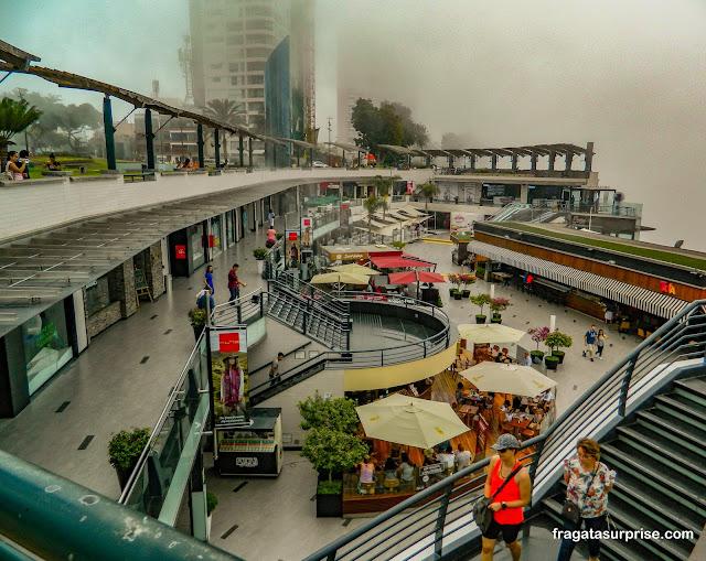 Shopping Larcomar, Miraflores, Lima, Peru