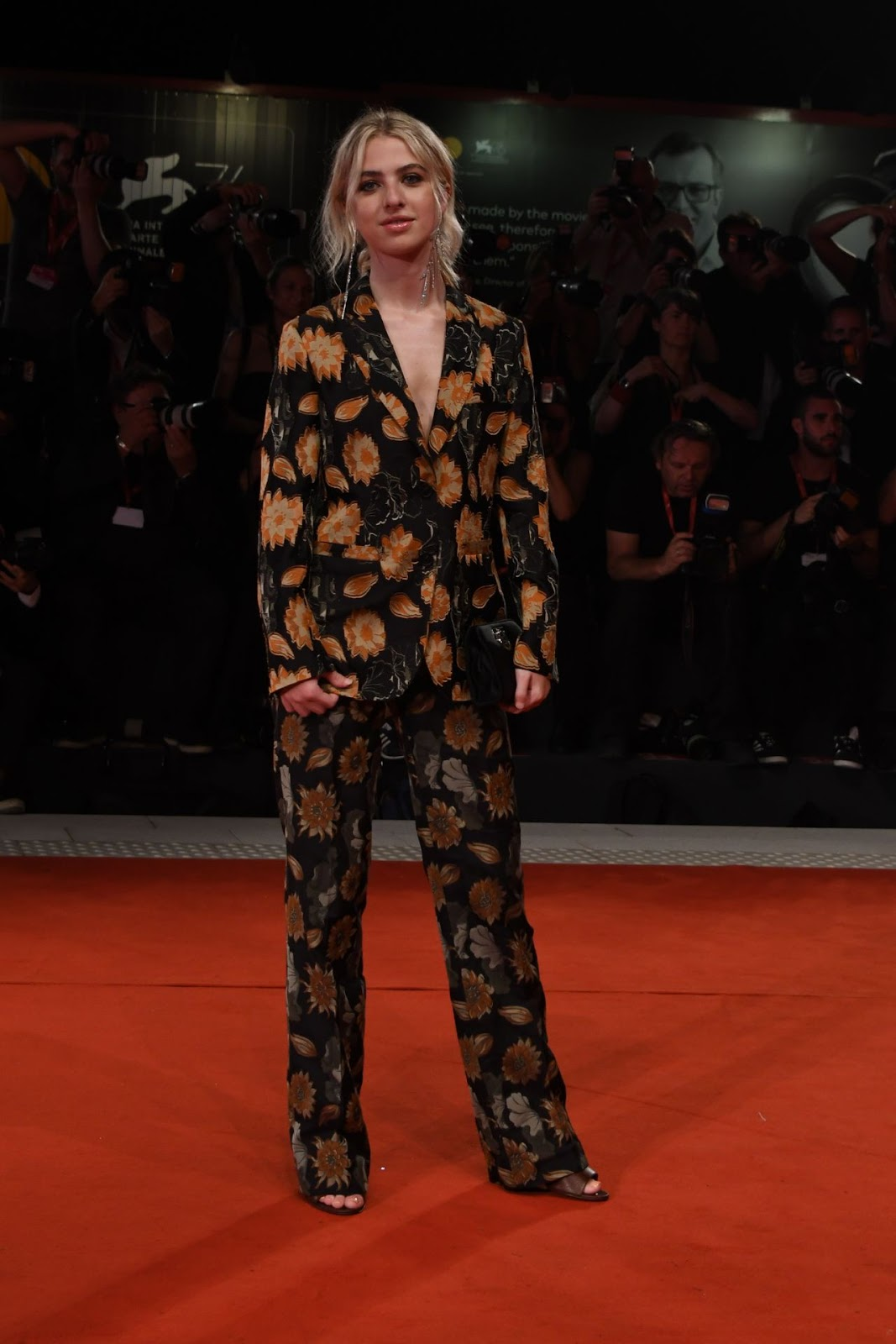 "Anaïs Gallagher – ""Ad Astra"" Premiere at the 76th Venice Film Festival"