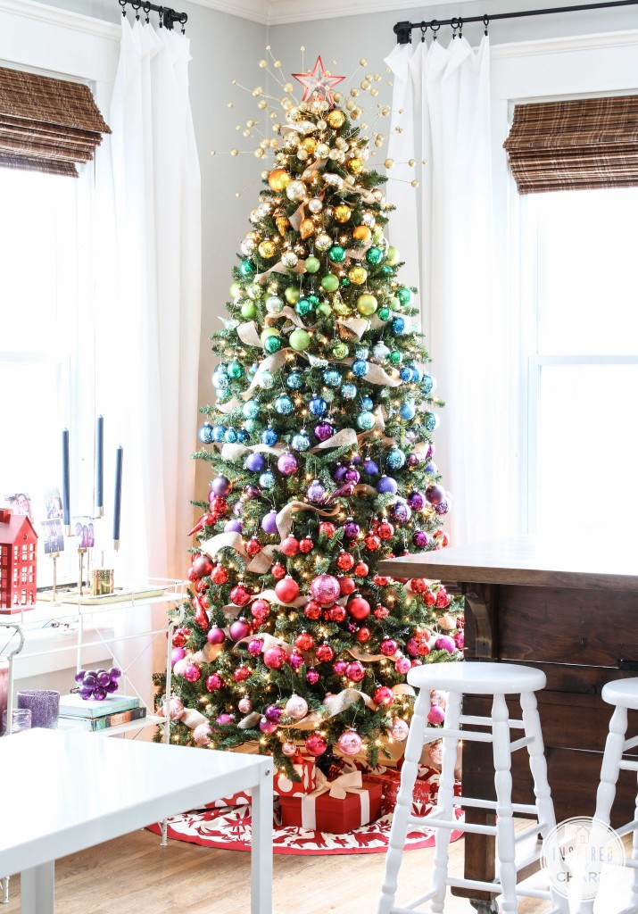Jingle belles ombre colors of christmas for Christmas tree color schemes