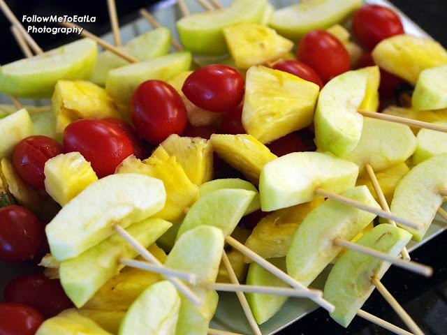 Fruits In Skewers