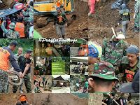 Bersama Basarnas, Banser Bantu Evakuasi Korban Longsor Ponorogo