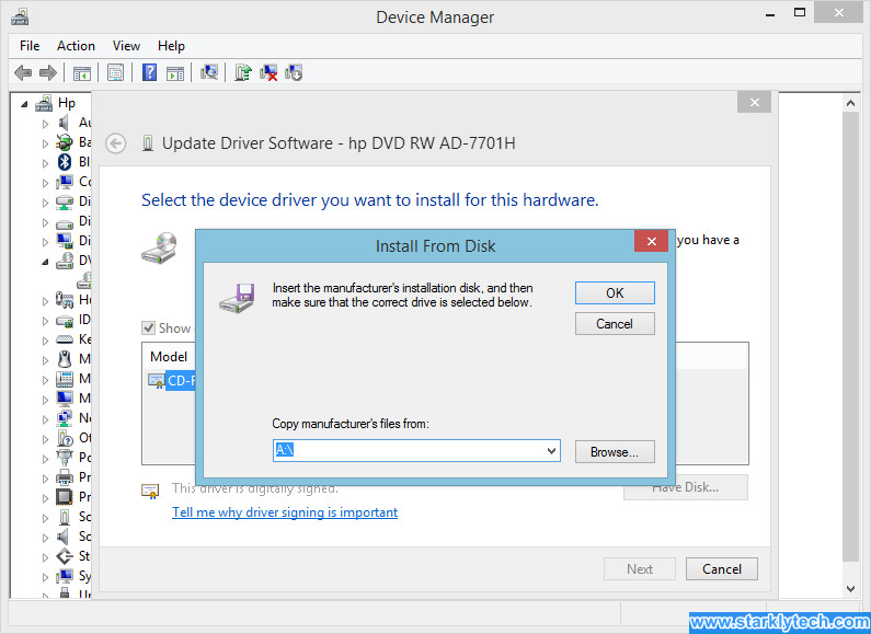 How to Manually Update Your Device Driver Step 8