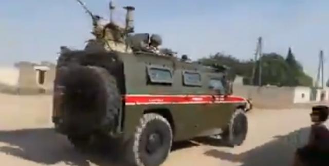 Οι ρωσικές δυνάμεις περιπολούν στα σύνορα της Τουρκίας – Συρίας