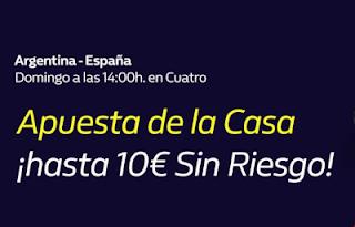 william hill Promo Argentina vs España Final Mundial Baloncesto 2019