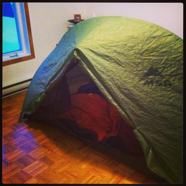 Camping intérieur St-Valentin