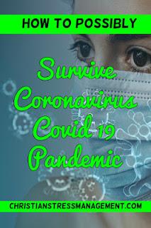 How to Survive Coronavirus Covid19 Pandemic