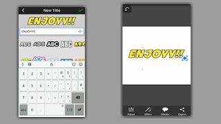 cara menambahkan teks di picsay pro