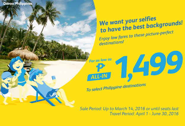 Summer Vacation Philippine Promo Fare 2016