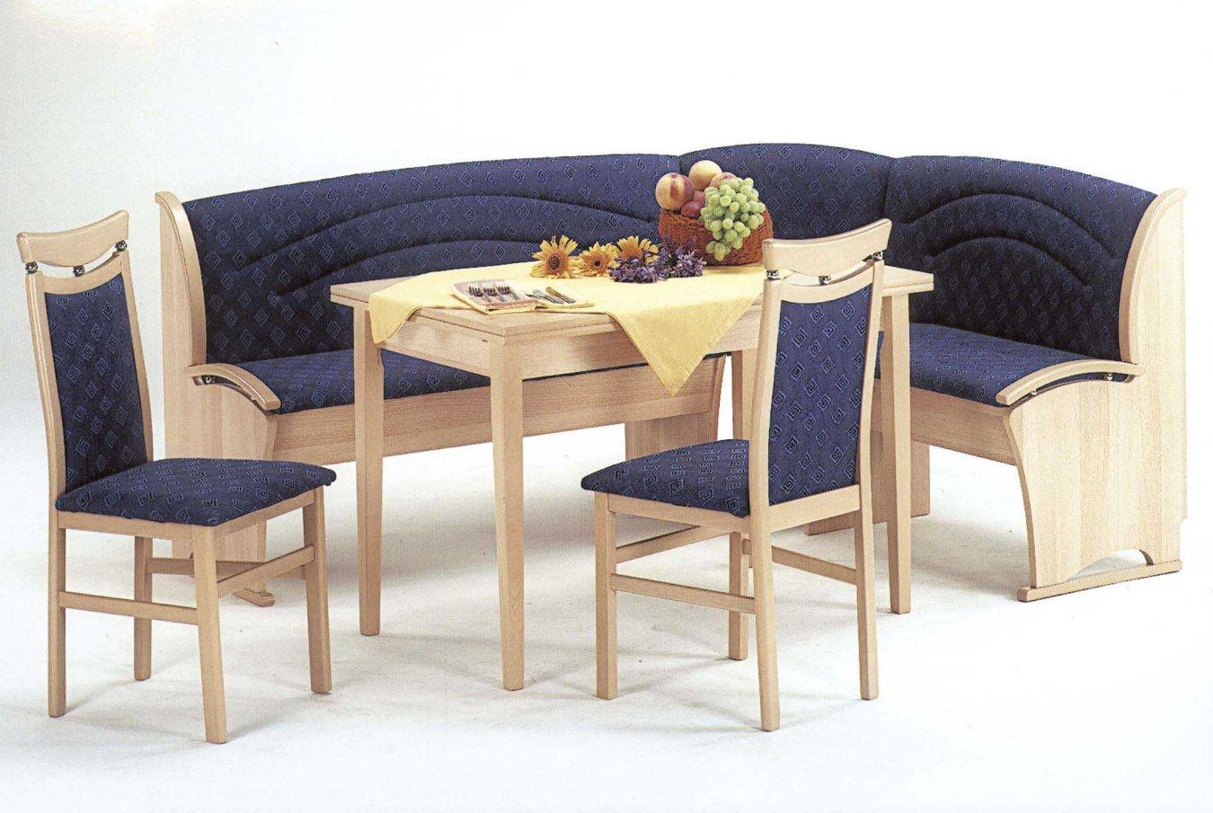 Kitchen Nook Dining Set With Upholstered Bench Style Seating