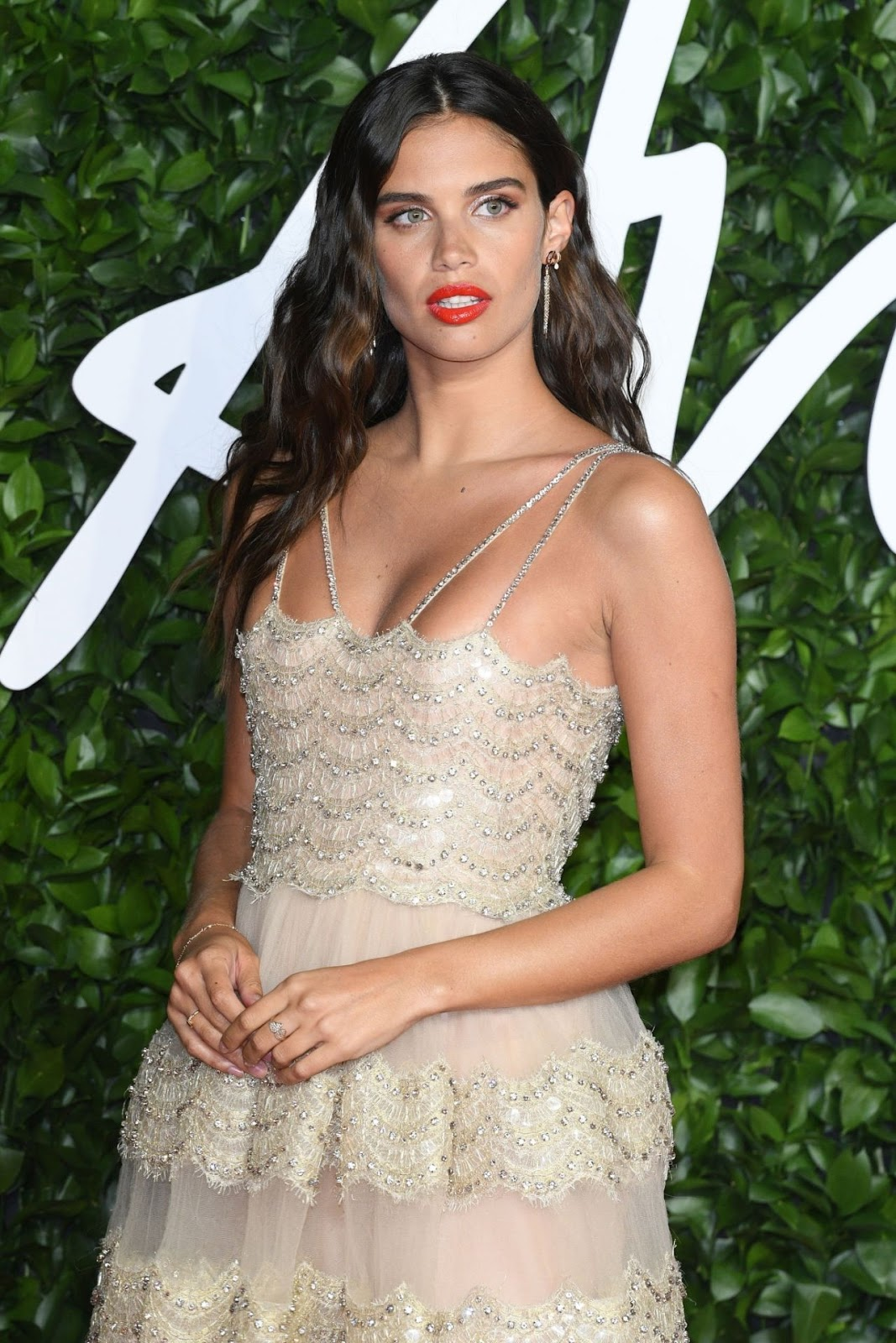 Sara Sampaio – Fashion Awards 2019 Red Carpet at Royal Albert Hall in London