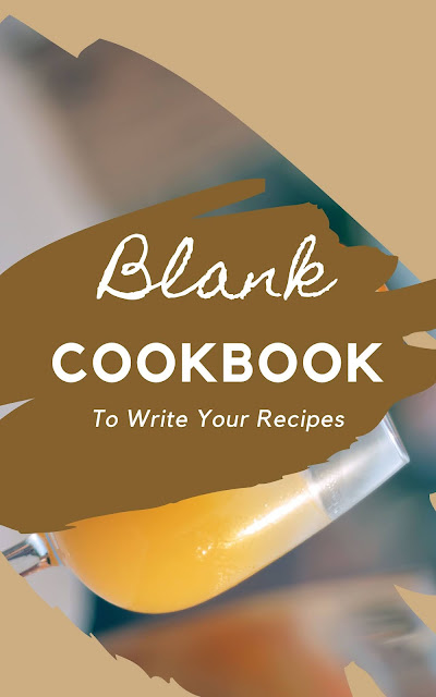 10 Beautiful Blank Paperback CookBooks To Write Your Recipes
