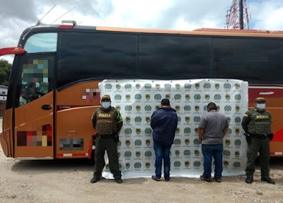 hoyennoticia.com, Covid-19: Capturados conductores de bus intermunicipal con sobre cupo