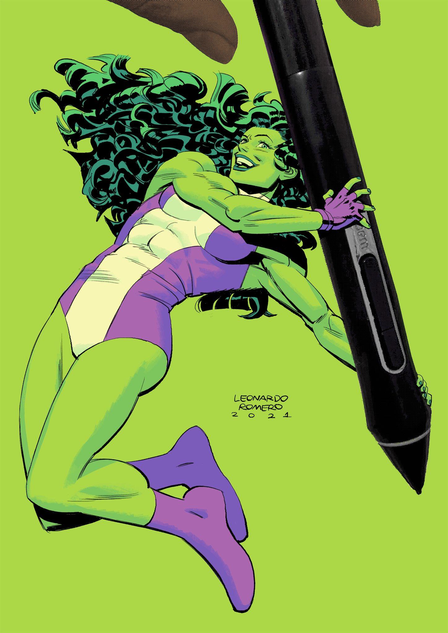 A incrível arte da Marvel por Leonardo Romero