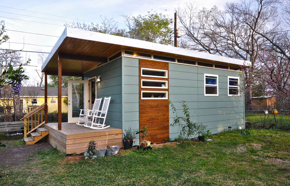 Tiny Home Designs: TINY HOUSE TOWN: Modern Cabin From Kanga Room Systems