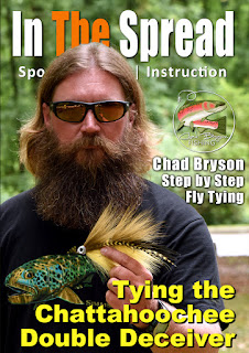 trout fishing fly tying in the spread chad bryson