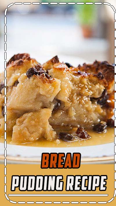 Authentic New Orleans Bread Pudding! With French bread, milk, eggs, sugar, vanilla, spices, and served with a Bourbon sauce. On SimplyRecipes.com #BreadPudding #Dessert #Bourbon #NewOrleans
