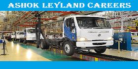 Ashok Leyland Jobs 2021 AshokLeyland.com 3,600+ Ashok Leyland Careers