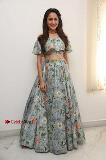 Actress Pragya Jaiswal Stills in Floral Dress at turodu Interview  0172.JPG