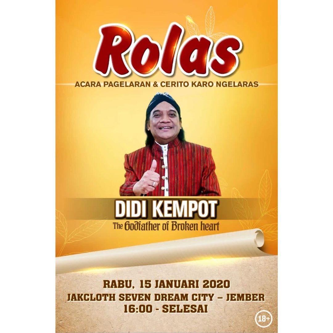 Konser Ambyar Didi Kempot Jember Jakcloth Seven Dream City