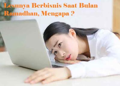 Bisnis, Info, Bulan Ramadhan, Lesu, Omset, Turun