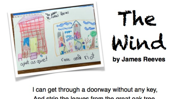Teacher Knapsack: The Wind by James Reeves