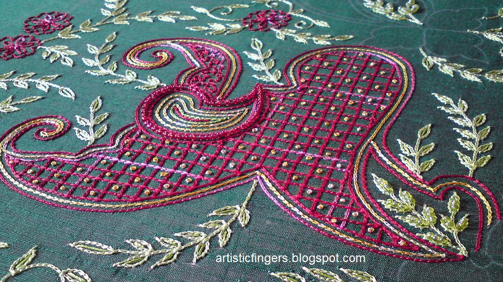 Artisticfingers aari embroidery part