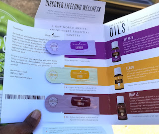 Sample of Essential Oils from Young Living