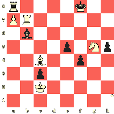 Les Blancs jouent et matent en 4 coups - Jan Timman vs Marcel Sisniega, Taxco, 1985