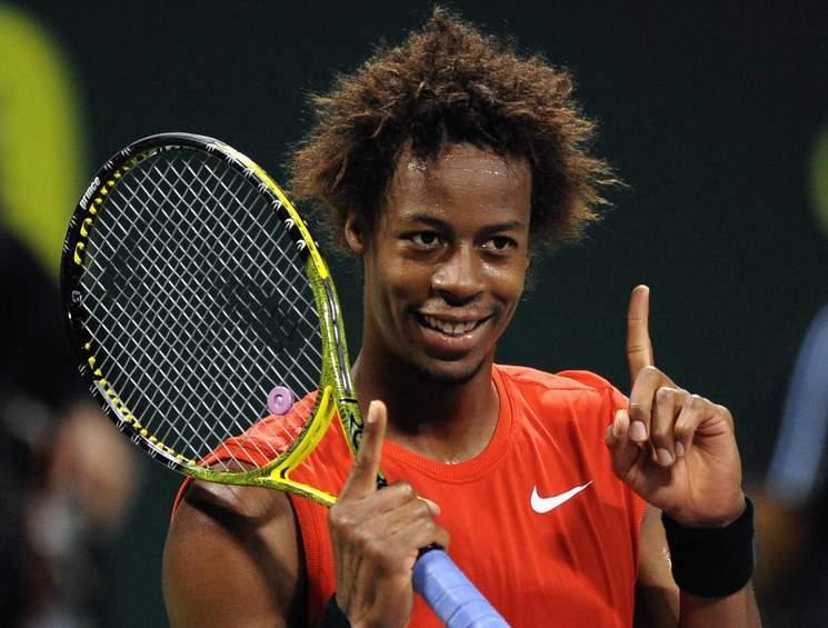 Tennis Stars Gael Monfils