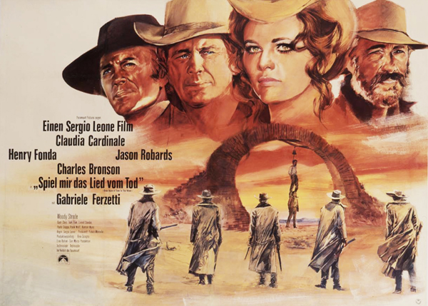 Once Upon a Time in The West - Movie Poster