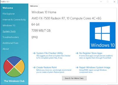 Διορθώστε τα προβλήματα των Windows 10 με το FixWin