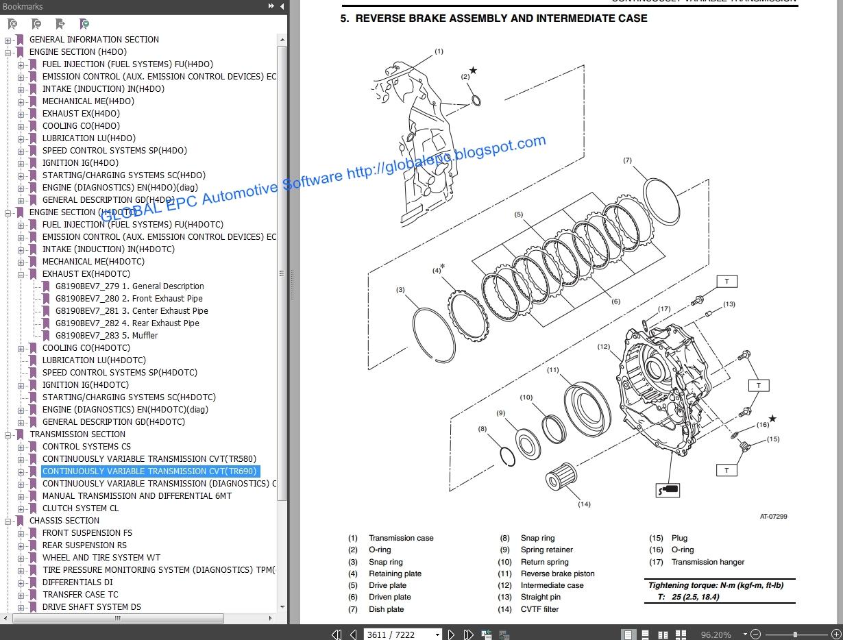 Auto Moto Repair Manuals  Subaru Forester 2013