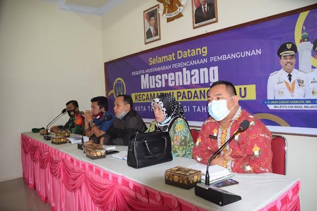 Musrenbang Kecamatan Padang Hulu di Buka oleh Camat Deni Handika Siregar SE MSi