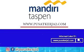 Lowongan Kerja Bengkulu PT Bank Mandiri Taspen Oktober 2020