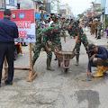 Ketua DPRD Support Gerakan Peduli Jalan Rusak yang di Pelopori Kodim Inhil