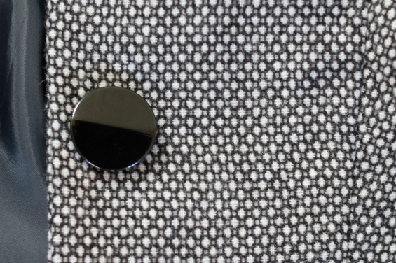 image of a large black button