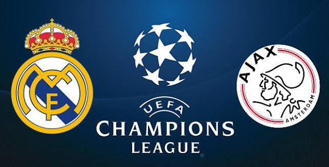 مشاهدة مباراة ريال مدريد و اياكس رابطة ابطال اوربا اليوم
