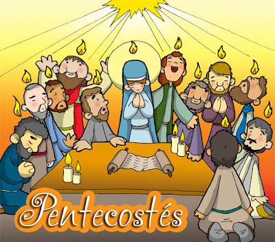 Resultado de imagen para imagenes de pentecostes para niños