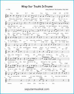 chord wrap your troubles in dreams lagu jazz standar