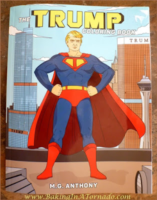 trump coloring book | Picture taken by and property of www.BakingInATornado.com