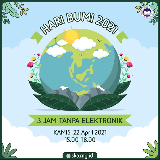 Hari Bumi 2021 - 3 Jam Tanpa Elektronik