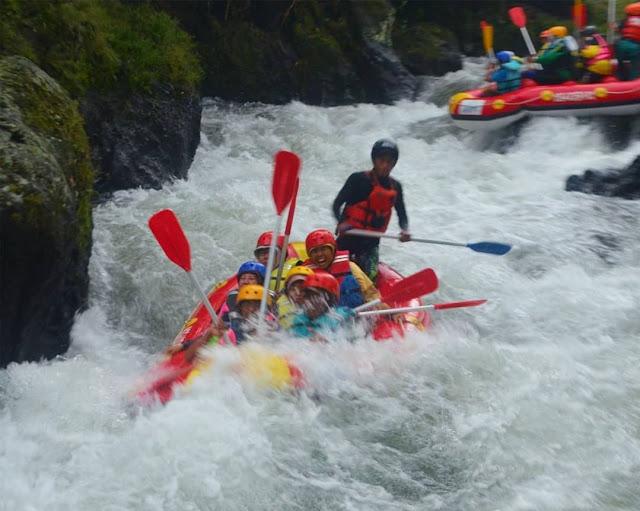Keseruan Rafting Pemalang
