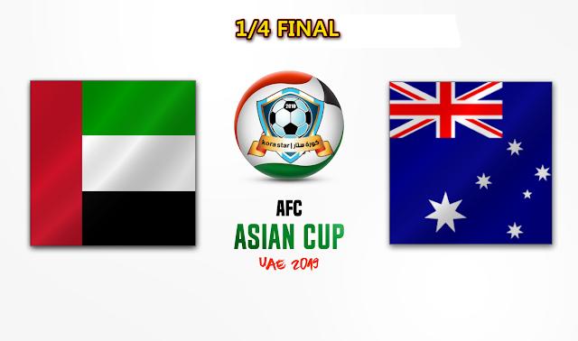 مشاهدة مباراة الامارات واستراليا بث مباشر 25-01-2019 كاس اسيا