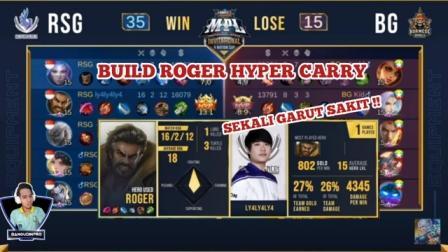 Build Roger RSG Tersakit