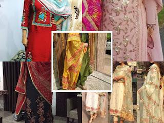 The Roseberry Boutique Latest Boutique Designer Punjabi Suits